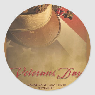 VETERANS DAY STICKER
