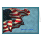Veterans Day, Thank You - Military Greeting Card