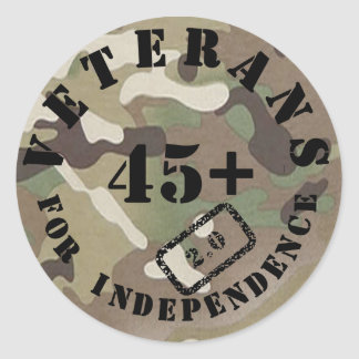 Veterans for Independence 2.0 Stickers