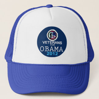 VETERANS for OBAMA Trucker Hat