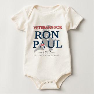 Veterans for Ron Paul.png Baby Bodysuit