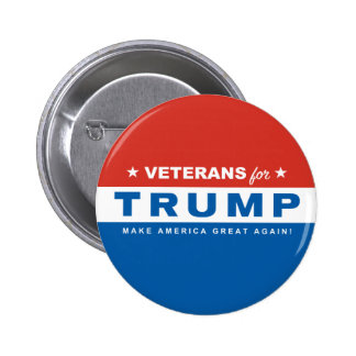 Veterans for Trump Classic Election Button