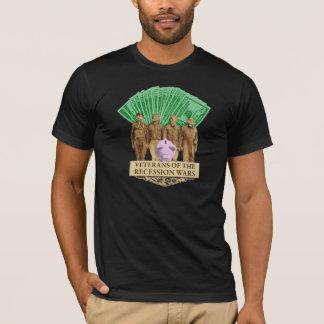 Veterans of the Recession Wars dark t-shirt