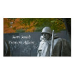 Veterans Pack Of Standard Business Cards