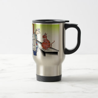Veterinarian Cartoon 9480 Travel Mug