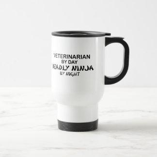 Veterinarian Deadly Ninja Travel Mug