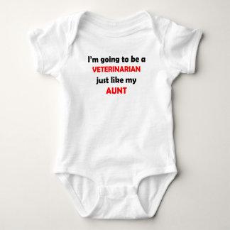 Veterinarian Like My Aunt Baby Bodysuit