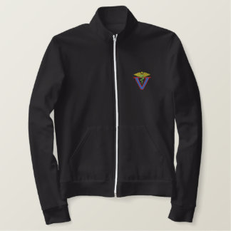 Veterinarian Logo Embroidered Jacket