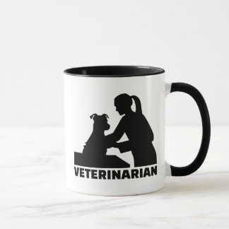 Veterinarian woman mug