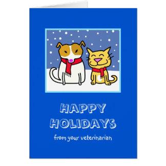 Veterinarian's Holiday Card