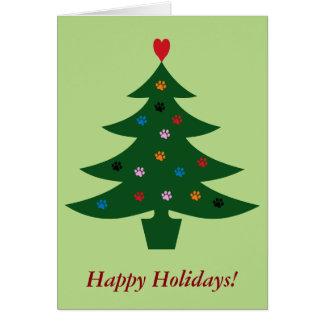 Veterinary Clinic Christmas Card