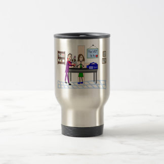 "Veterinary Gifts ""The Vet Is In"" Travel Mug"