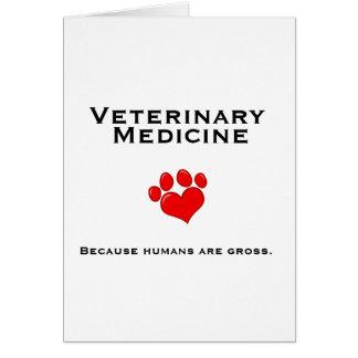 Veterinary Medicine Greeting Card
