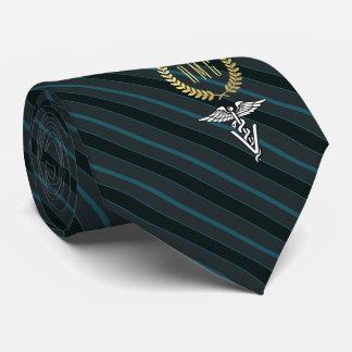 Veterinary Professional Monogrammed Slate Tie