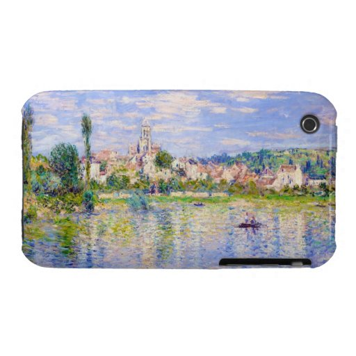 Vetheuil in Summer Claude Monet Case-Mate iPhone 3 Cases