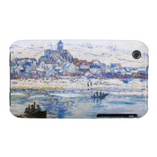 Vetheuil in Winter Claude Monet iPhone 3 Case-Mate Cases