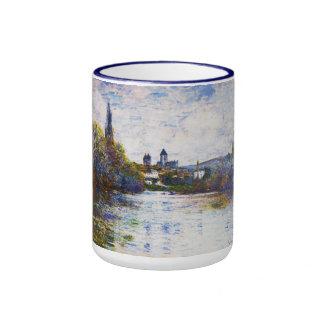 Vetheuil, The Small Arm of the Seine Claude Monet Ringer Mug