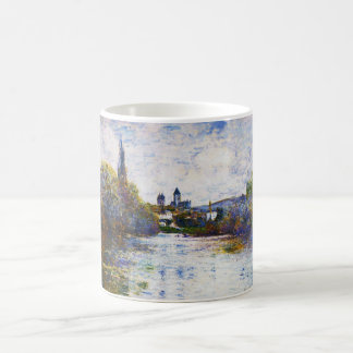 Vetheuil, The Small Arm of the Seine Claude Monet Coffee Mug