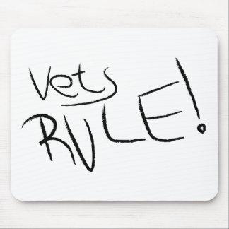 Vets Rule Mouse Mat