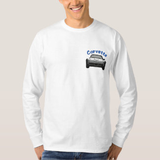 vette embroidered long sleeve T-Shirt