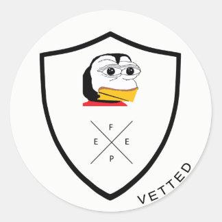VETTED #FEPE Sticker