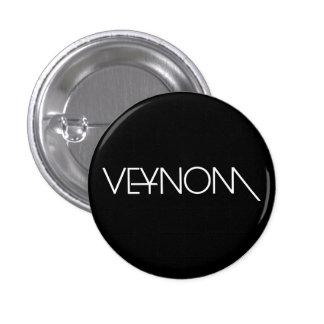 Veynom swipes in 3 cm round badge