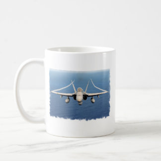VFA-81, FA-18-1 BASIC WHITE MUG
