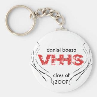 vhhs class key chain