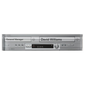 Vhs Dvd Player Faceplate Name Plate