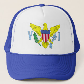 VI Flag Trucker Hat
