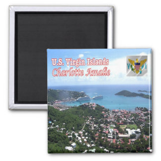 VI-Virgin Islands-Charlotte Amalie - St. Thomas Magnet