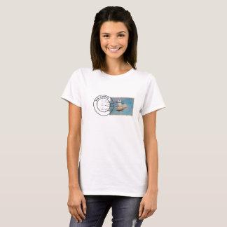 Via Airpig - flying pig airmail T-Shirt