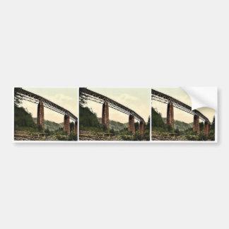 Viaduct over Ravenna Ravine Hollenthal Railway B Bumper Stickers
