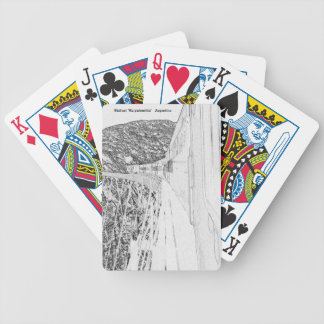 "Viaduct ""polvorilla"" (Pencil design) Bicycle Playing Cards"