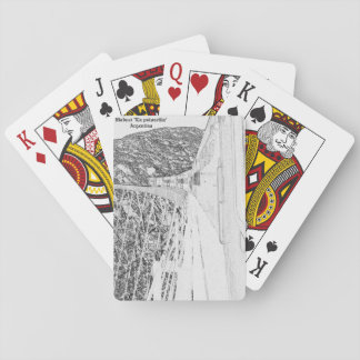 "Viaduct ""polvorilla"" (Pencil design) Playing Cards"