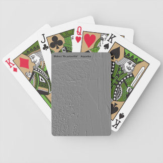 "Viaduct ""polvorilla"" (Relief design) Bicycle Playing Cards"