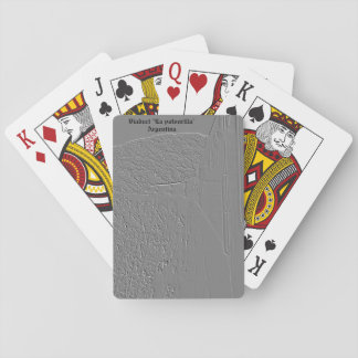 "Viaduct ""polvorilla"" (Relief design) Playing Cards"