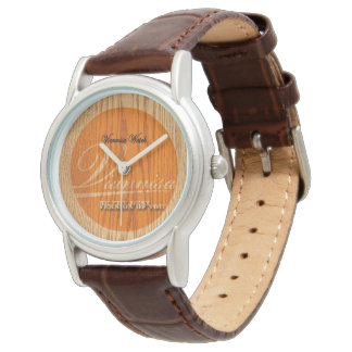 Viannisa Watch Wood Style
