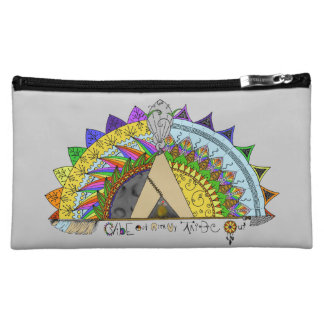 Vibe Out with my Tribe Out rainbow Cosmetic Bag