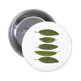 VIBIRNUM leaves PEACE Pin