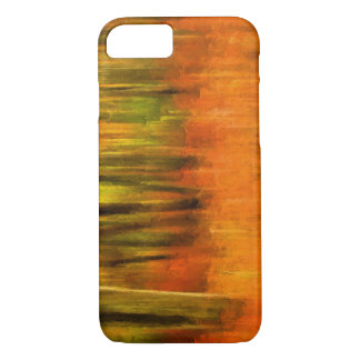 Vibrant Abstract Autumn Woods Painting iPhone 7 Case