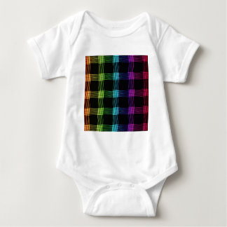 Vibrant Abstract Background Baby Bodysuit