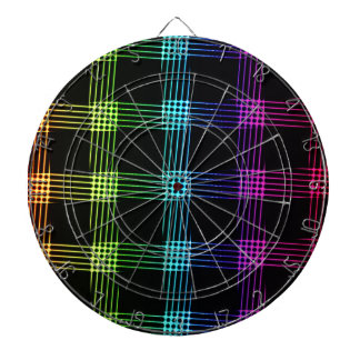 Vibrant Abstract Background Dartboard