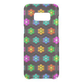 Vibrant Abstract Flower Pattern Uncommon Samsung Galaxy S8 Case