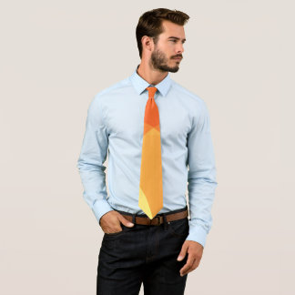 Vibrant abstract pattern tie
