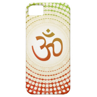 Vibrant Aum Design Barely There iPhone 5 Case