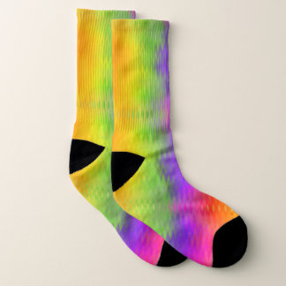 Vibrant Aurora Socks