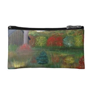 Vibrant Autumn Cosmetic Bag