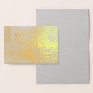 Vibrant Autumn Foil Cards
