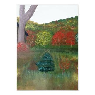 Vibrant Autumn Invitation